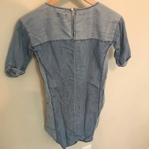 Old Navy Dresses - GIRLS chambray shift dress size 8 CUTE summer jean
